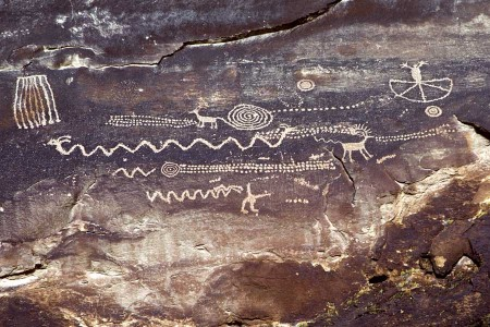 Petroglyphs: everything old is new again.