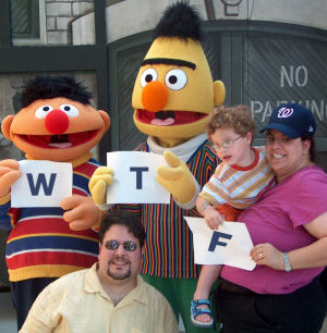 This episode was brought to you by the letters W, T, and F.