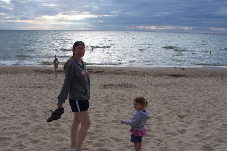 The only remaining photographic evidence of my bare legs in the state of Michigan