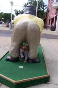 Presenting Golfing Gorilla!