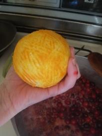 Zest of orange, zest of pinkie.